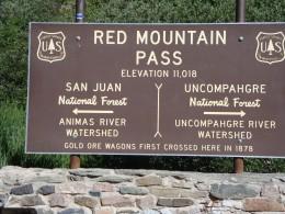 Red Mountain Pass - Million Dollar Highway