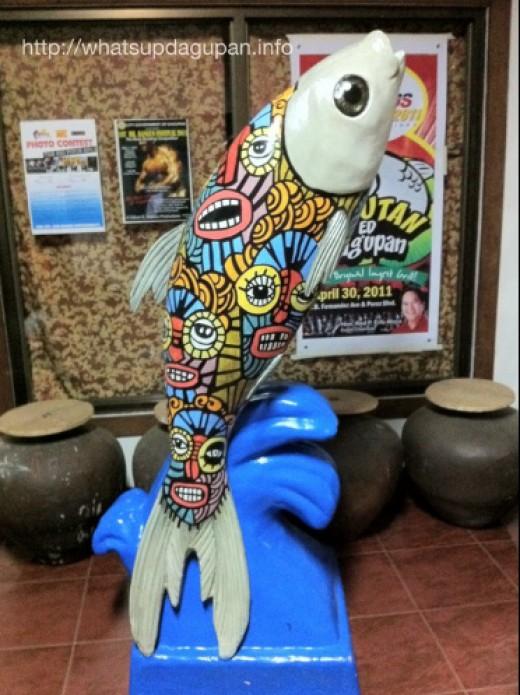 The Bangus Sculpture Contest.