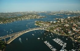 Sydney is, in my biased opinion, the best city in the world.   Here's just a part of our magnificent harbour.