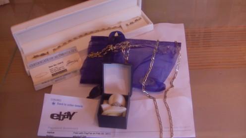 Ebay fake gold - hallmarked, but counterfeit!