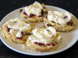 The Best Fluffy Fruit Scones Recipe
