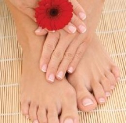 Pedicured Feet