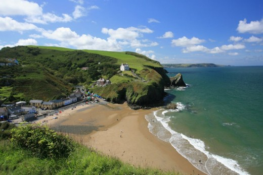 Llangrannog Beach, Cardigan Bay