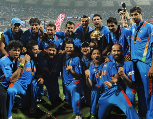 India's 2011 World Cup Winning Squad
