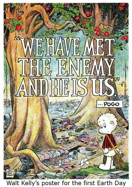 Walt Kelly - First Earth Day Poster