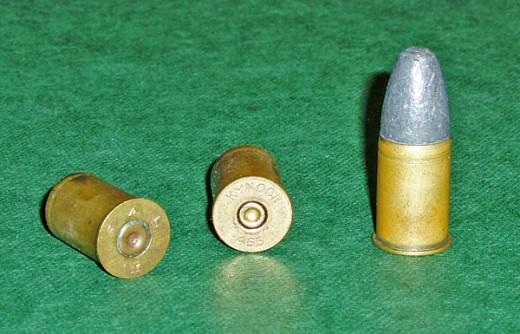 Webley .455 ammunition