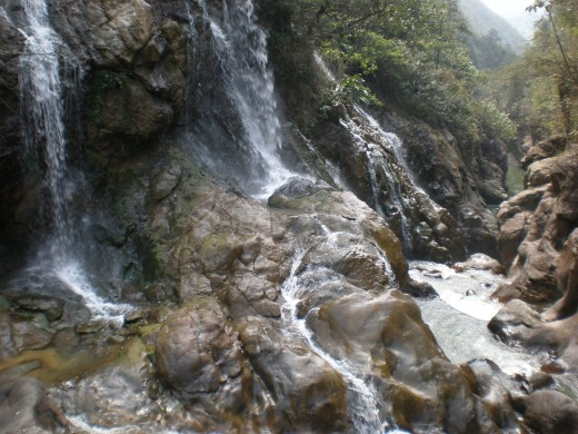 Waterfalls, Sapa, Vietnam.
