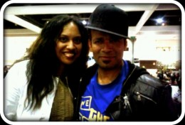 Elizabeth Lavulo and Mario Van Peebles  @ World Of Dance Competition