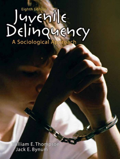 """""""Juvenile Delinquency: A Sociological Approach"""". A decent and informative book detailing the sociological effects upon the juvenile delinquent."""