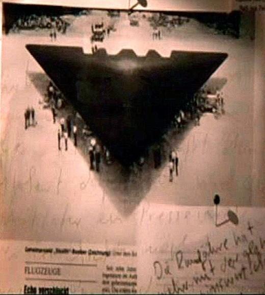 driehoeks ufo