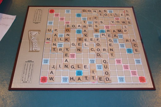 Scrabble, anyone?