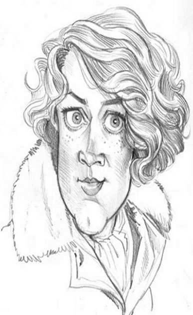 Amelia Earhart Kids Free Coloring Pages and Amelia Earhardt colouring pictures to Print Caricature