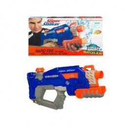Nerf Supersoaker Wars Rattler Water Blaster - Blue