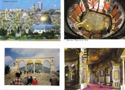dome of the rocks, old city Jerusalem, Felsendom, El Aksa-Moschee, Israel