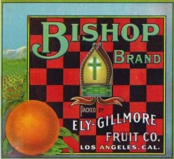 free cross stitch pattern Bishop Oranges