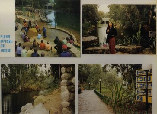 Pilgrim Baptismal Site Yardent, Israel