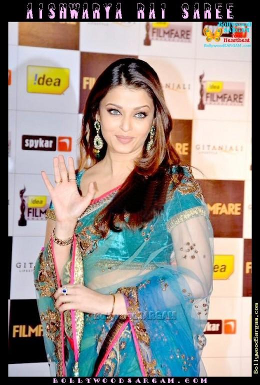 Aishwarya Ria in sari