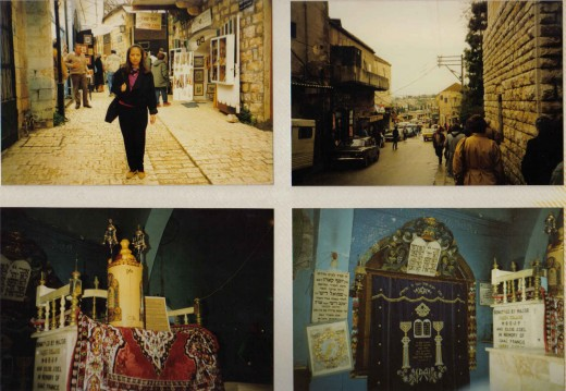 Town of Safed, visit an ancient synagogue and the artist colony, Israel