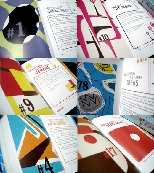 how the book looks inside.