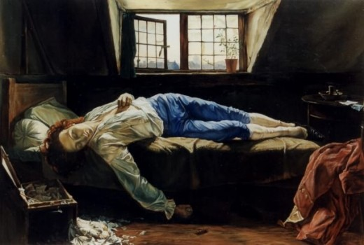 Death of Chatterton - Henry Wallis