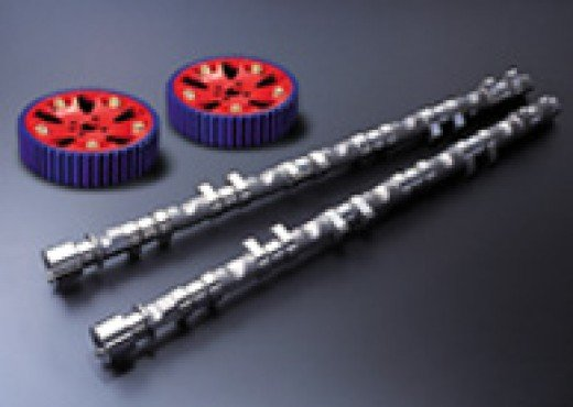Poncams with adjustable cam gears