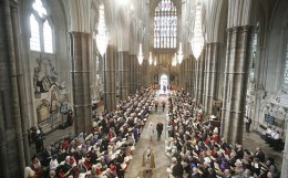 Westminster Abbey is where the vows will be exchanged.