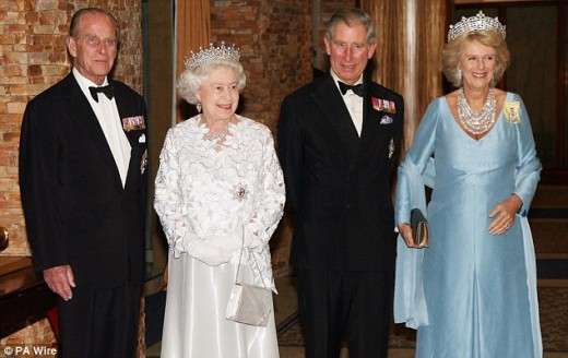 Grandma and Prince Charles will foot the bulk of the bill and have the reception at Buckingham Palace to reduce costs