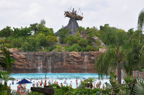 Typhoon Lagoon, at Disney World, had the highest attendance of all US water parks with just over 2,000,000 (according to TEA/ERA Attendance Report 2007).