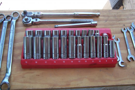 This is my Meteric set I also have a standard set. This set has deep drive and short sockets