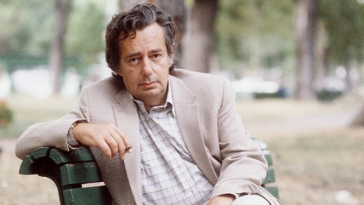 Richler in a Montreal Park, October 1983