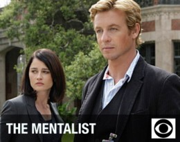 Simon Baker and Robin Tunney in The Mentalist