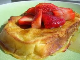 French toast can be made in a wholesome way