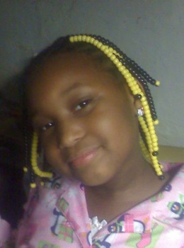 granddaughter--Te'Asia--7 yrs. old
