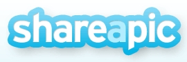 Shareapic Logo - load images and earn money