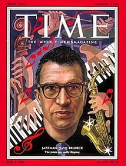 Thank You Dave Brubeck, Jazz Pianist Legend