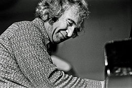 Dave Brubeck in a 1972 performance in Hamburg