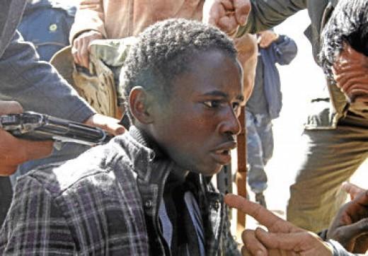 Mercenary? or guilty because he is black?