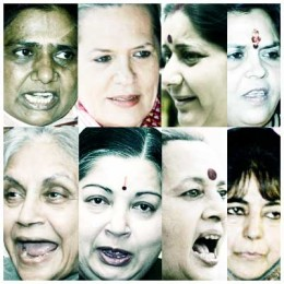 Faces of Powerful women in India