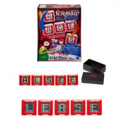 Classic Scrabble Flash Cubes - 3 Games in 1
