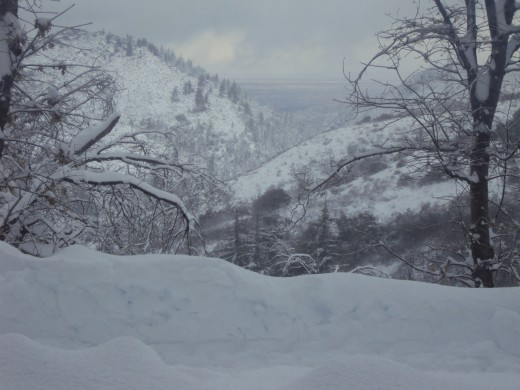 You have to be willing to shovel snow if you live in Lake Arrowhead, or even if you are going to visit for a few days.