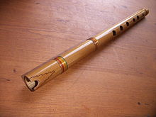 The quena, traditional wind instrument of the Andes. (Photo - Wikipedia)
