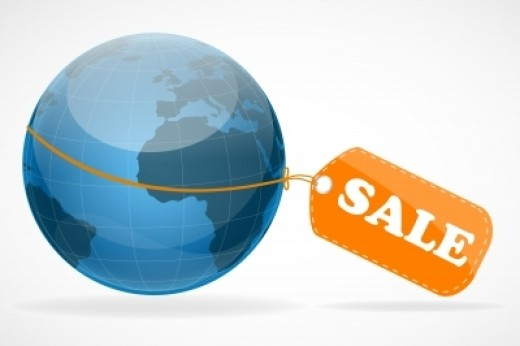 The world is on sale: simply clip the coupons.