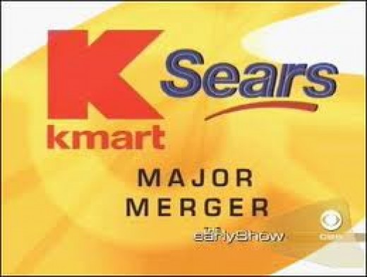 I imagine the K-mart/Sears Merger occured pretty much the same way.
