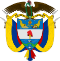 Coat of arms of Colombia with condor featuring prominently. Picture - Wikipedia