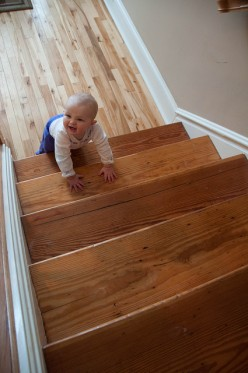 Child Safety Gate: Stairs Must Be Guarded