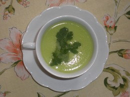 Authentic Mexican Avocado Soup