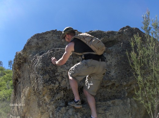 Climbing in Pinnacles National Monument is good.  You need to check with the ranger to be sure the area you plan to climb is open to climbers.  Some areas are closed during condor mating season..
