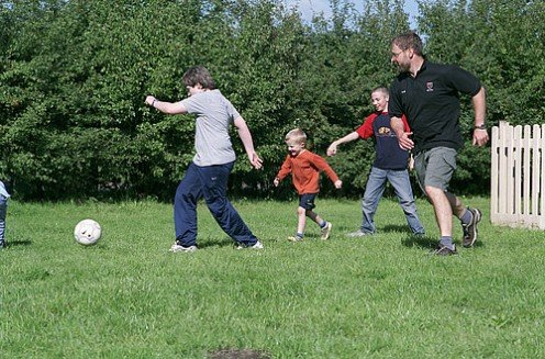 Physical Activity - Family Football
