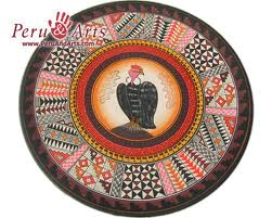 Condor pictured in a Peruvian ceramic. Picture: peruandarts.com