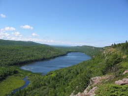 Lake of the Clouds, Porcupine Mountains State Park.